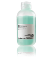 MELU / Шампунь для длинных или поврежденных волос с экстрактом шпината, 75ml